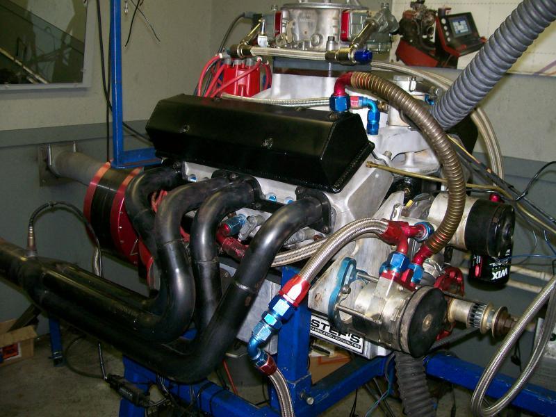 Honeycutt Engines and Machine - 434 Short Block Chevy (SBC)